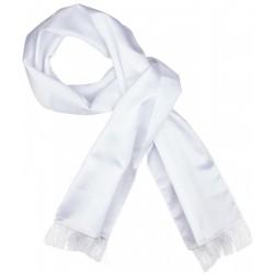 Bufanda esmoquin blanco