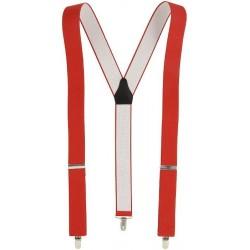 Rojo suspensores anchos Y