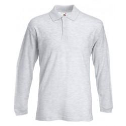 Ceniza gris polo t-shirt