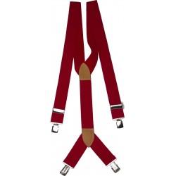 tirantes rojos extra anchas