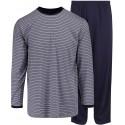 Ambassador pijama jersey - azul a rayas