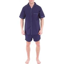 Azul oscuro para hombre del pijama