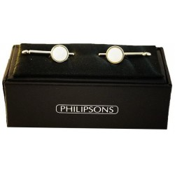 Viste camisa de botones - Plata / Madre de perla