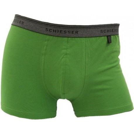 Verde Schiesser 95/5 calzoncillos