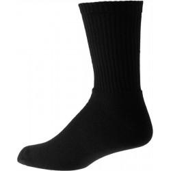 Hombres negros gruesos calcetines de algodón