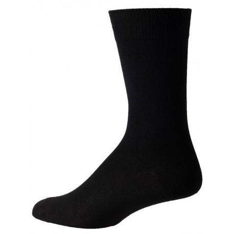 calcetines negros para los hombres