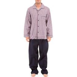 Pijamas popelina tela escocesa