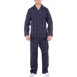 Ambassador pijama de rayas azules