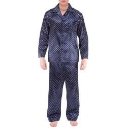 Ambassador pijama de raso Navy