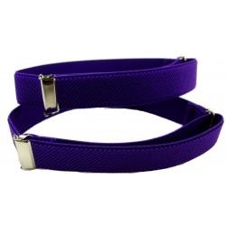 Sujeta mangas púrpura