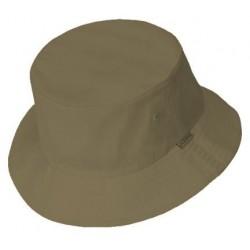 Gris oscuro sombrero del cubo