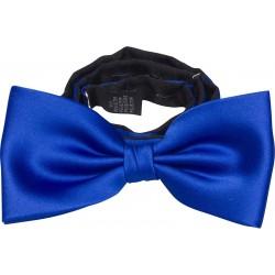 Corbata azul cobalto arco