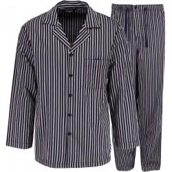 Ambassador pijama de rayas grises