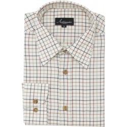 Ambassador camisa - Tattersall a cuadros