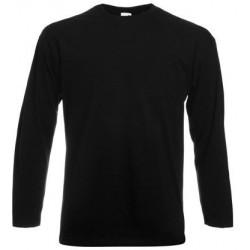 Camiseta manga larga negro