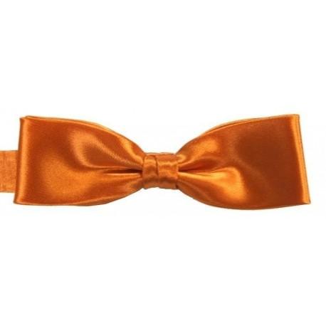 Orange corbata de lazo delgado