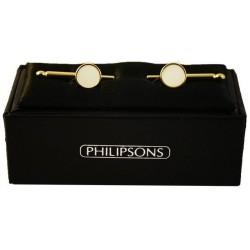 Viste camisa de botones - Oro / Madre de perla