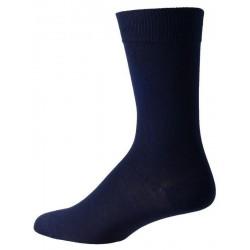 calcetines de color azul oscuro para los hombres