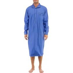 Camisón azul medio