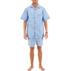 Luz azul para hombre del pijama